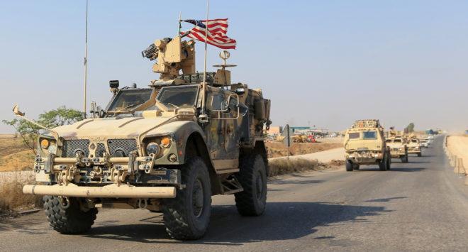 シリアから撤退する米軍