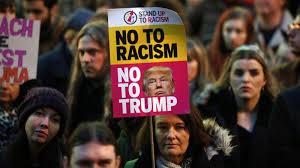 全米各地で反トランプデモ