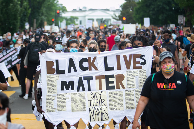 ブラックライブズマター・ワシントン集会