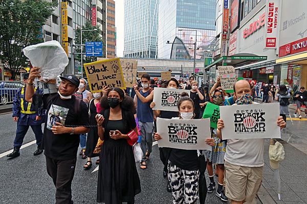 2020.6.14BLM東京行進