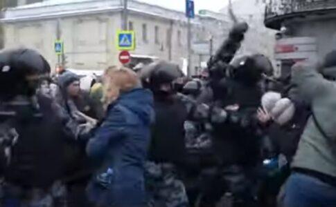 2021.01.23 ロシア全土で反政府デモ