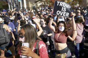 トランプ落選を喜ぶアメリカ市民