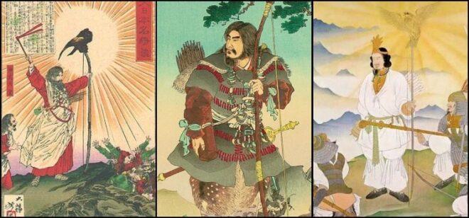 戦前の錦絵に描かれた紀元節(神武)