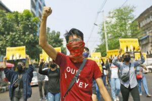 ミャンマーに自由を!