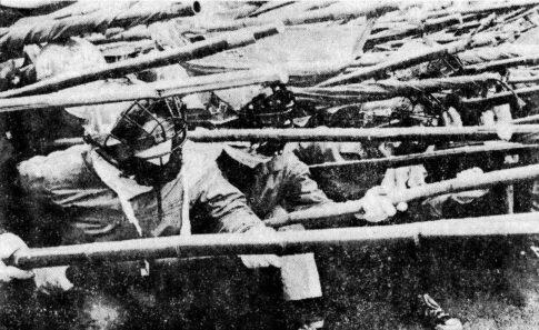 戦旗派 1971.4.28 日比谷公園 野合右派粉砕