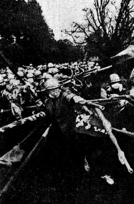 1972.3.20 自衛隊清水基地解体闘争 九州大‐熊本大