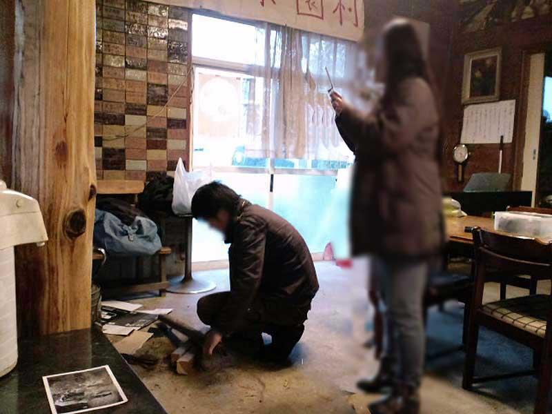 木の根ペンション2月集中作業日 43