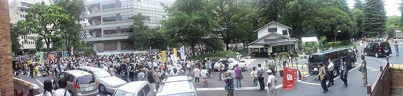 08・06 東電前・銀座 原発やめろデモ 04
