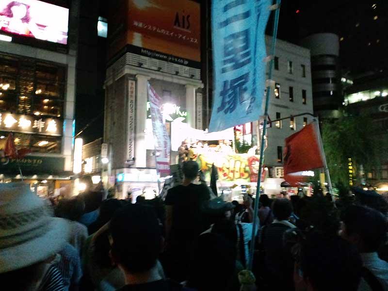 08・06 東電前・銀座 原発やめろデモ 54