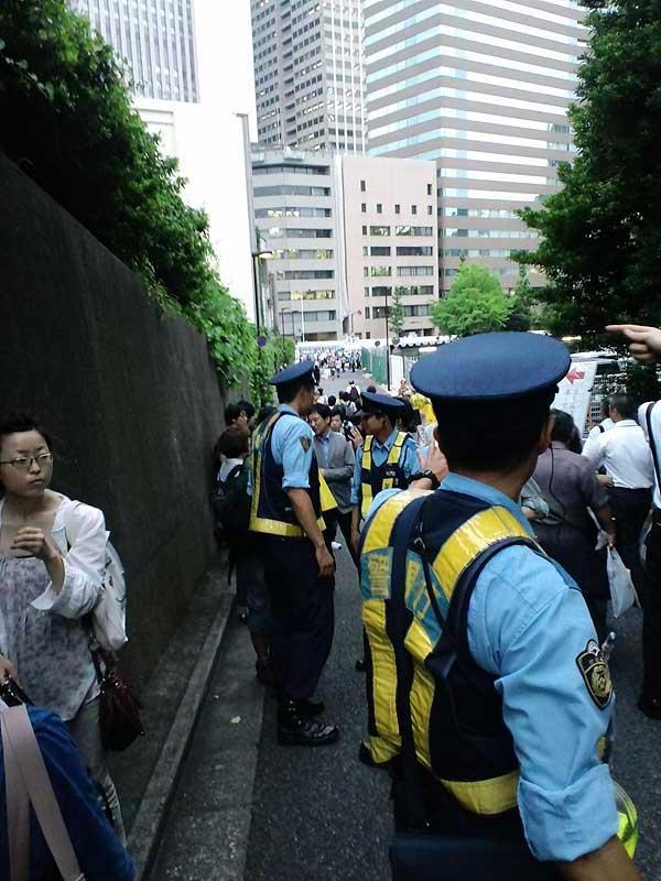 大飯原発3号機を停止せよ!首相官邸前抗議 05