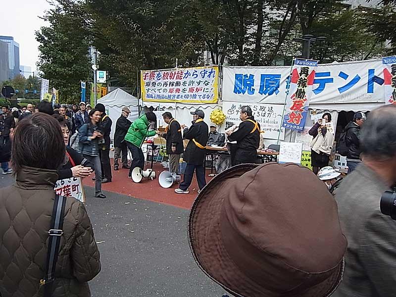 反原発1000000人大占拠 01