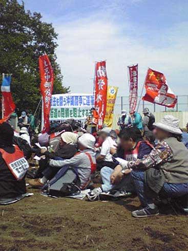 5・16三里塚現地緊急闘争 14