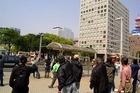 名古屋・外国人排斥デモへのカウンター情宣(3