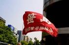 名古屋・外国人排斥デモへのカウンター情宣(5