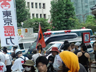 08・06 東電前・銀座 原発やめろデモ 18