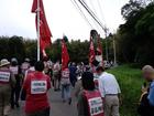 三里塚・横堀現地集会とデモ 31