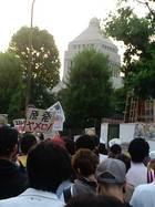 6.22 首相官邸前抗議行動 01