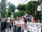 6.22 首相官邸前抗議行動 08
