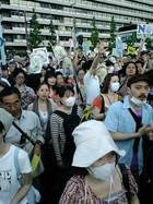 6・29 大飯原発再稼動を撤回せよ!首相官邸前抗議 23