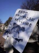 11・18野田総理地元デモ 04