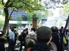 日本「主権回復の日」記念式典抗議集会 07