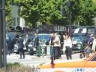 日本「主権回復の日」記念式典抗議集会 11