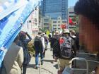 日本「主権回復の日」記念式典抗議集会 45