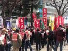 集団的自衛権法制化阻止・新宿反戦デモ 07