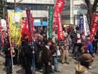 集団的自衛権法制化阻止・新宿反戦デモ 11