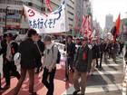 集団的自衛権法制化阻止・新宿反戦デモ 26