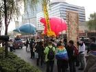 11・8沖縄県民大会に呼応する東京デモ 34